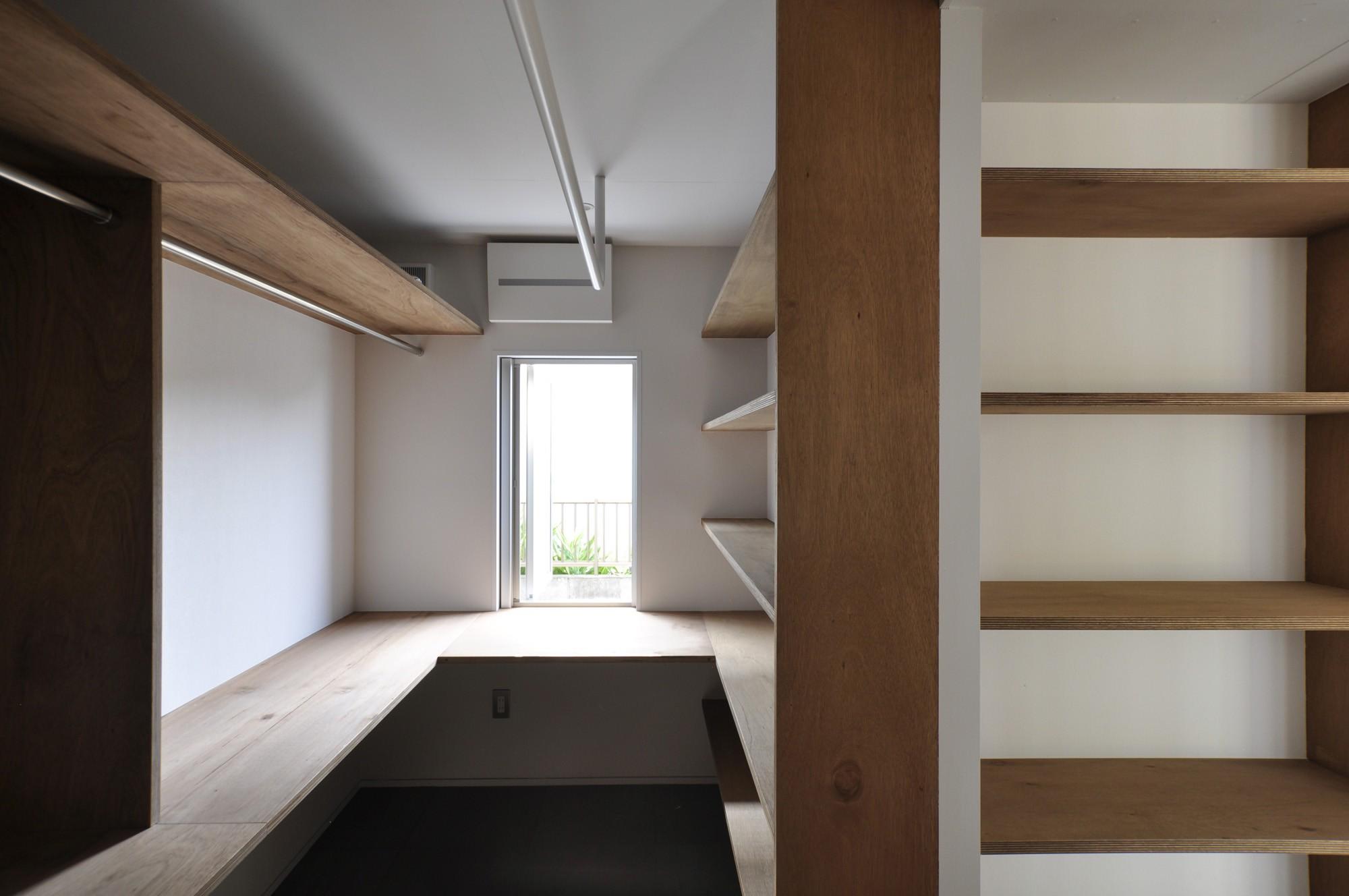 収納事例:家事室(鴻巣の家)
