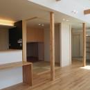 大屋根の家の写真 和室