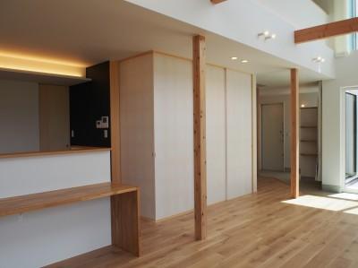 和室 (大屋根の家)