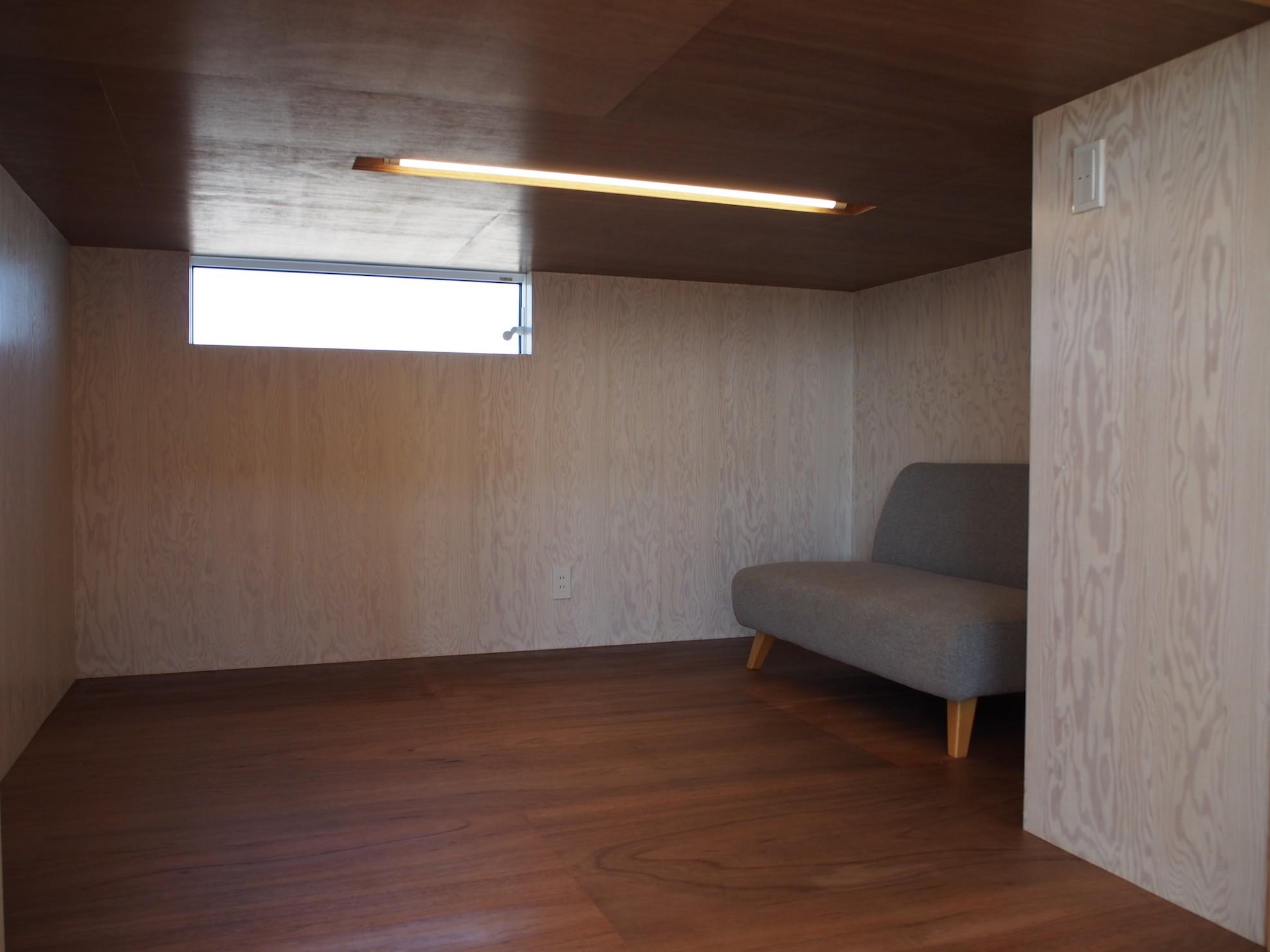 収納事例:納戸(大屋根の家)