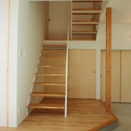 大屋根の家 (階段)