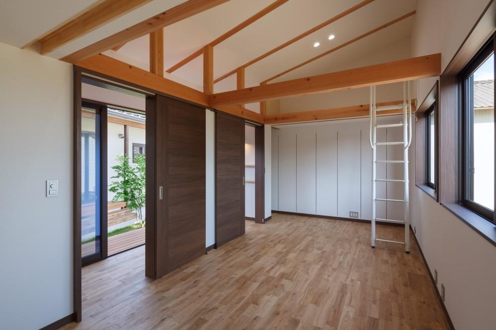 須賀川・今泉のリノベーション (子供部屋(オープン))