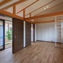 須賀川・今泉のリノベーションの写真 子供部屋(オープン)