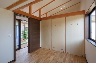 子供部屋(間仕切り) (須賀川・今泉のリノベーション)
