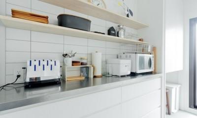キッチン|やさしい色が心地良いスカンジナビアスタイル