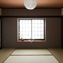 素材にこだわったシンプルなお家の写真 和室