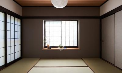 素材にこだわったシンプルなお家 (和室)