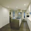 スタイリッシュな家の写真 キッチン