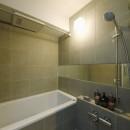 スタイリッシュな家の写真 バスルーム
