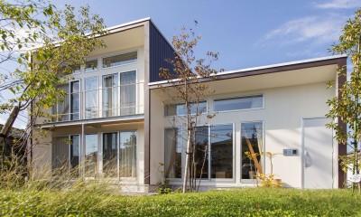 南側外観|3-BOX 1800万円の家