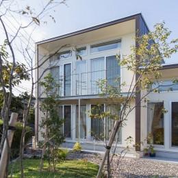 3-BOX 1800万円の家 (南側外観)