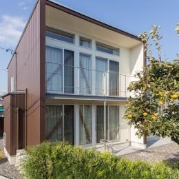 3-BOX 1800万円の家 (南西側外観)