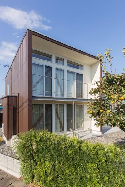 南西側外観 (3-BOX 1800万円の家)