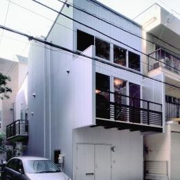 小石川植物園と向き合う家/Niさんの家