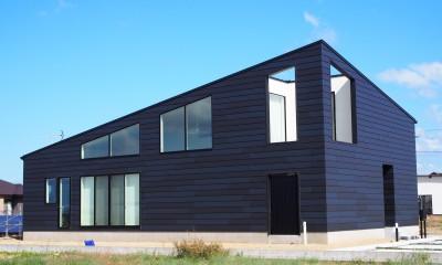 外観|大屋根の家