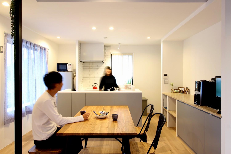 キッチン事例:ダイニング・キッチン1(house h/d)