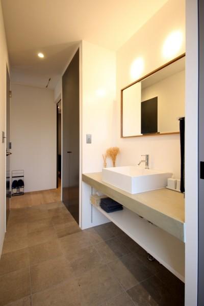 洗面室1 (house h/d)