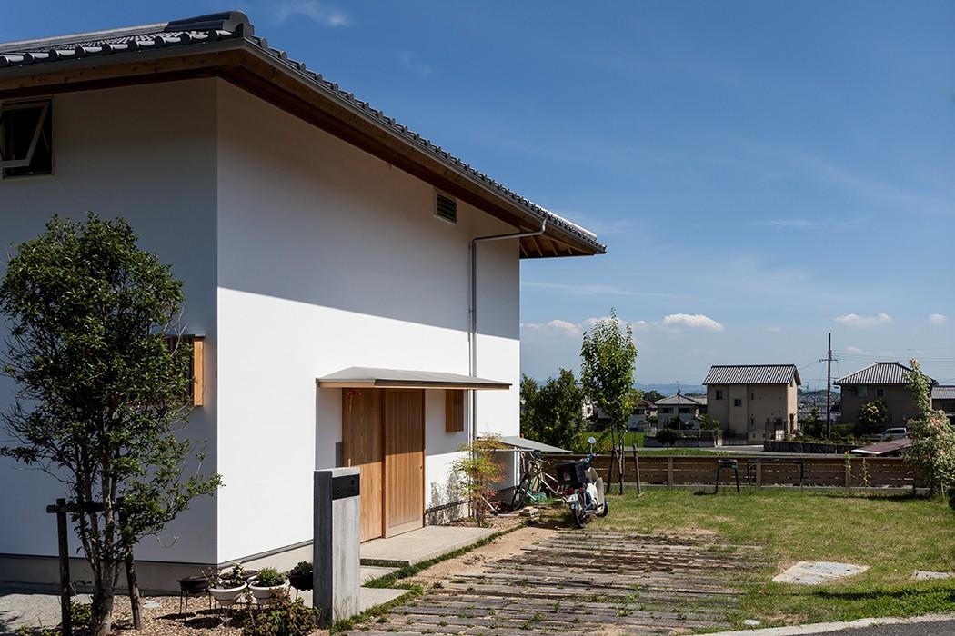 外観事例:斑鳩の家(斑鳩の家)