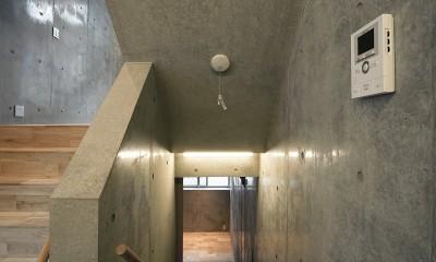 YKR[低層地の賃貸併用住宅] (スキップフロア)