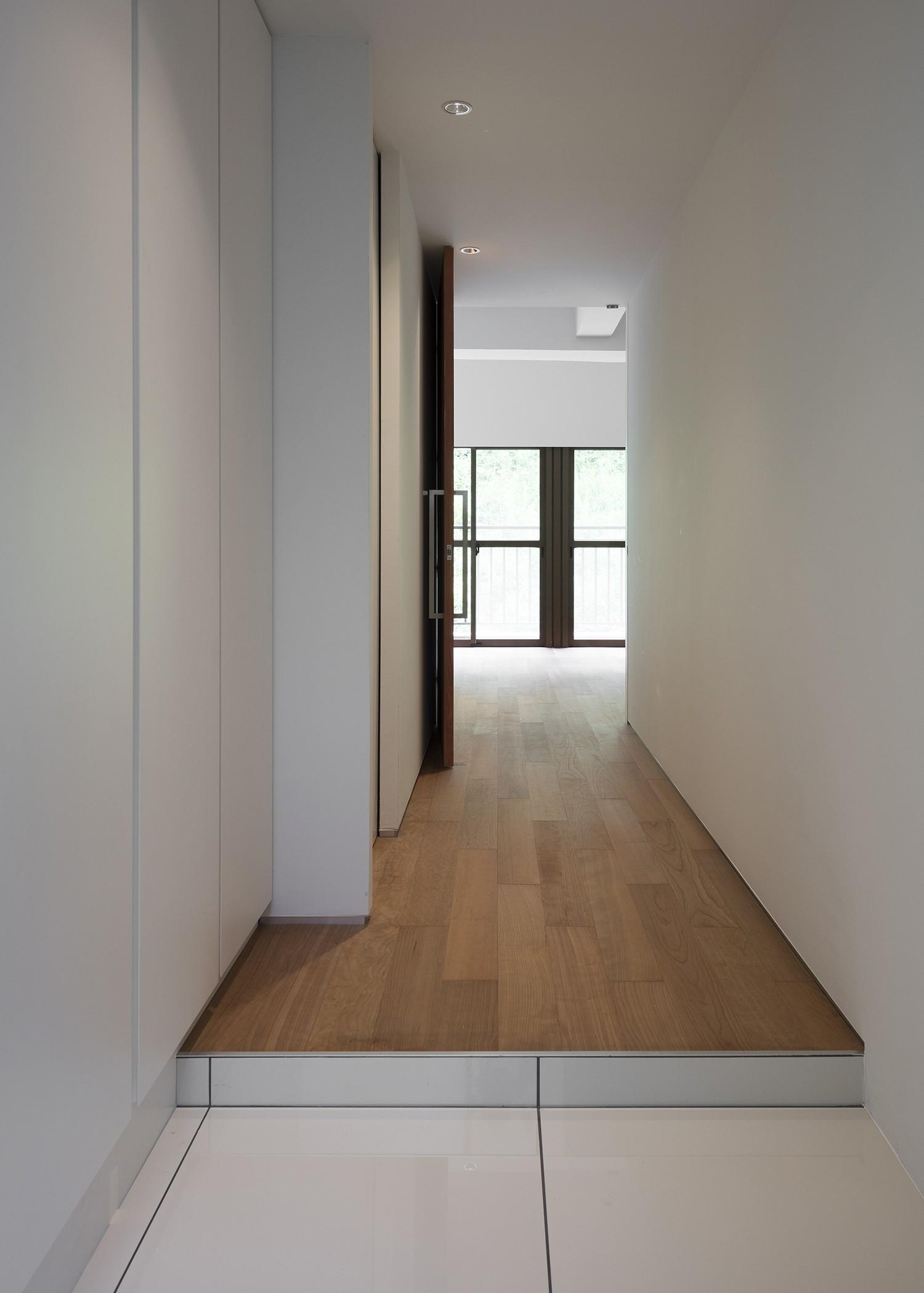 玄関事例:玄関(ROR [緑の家])