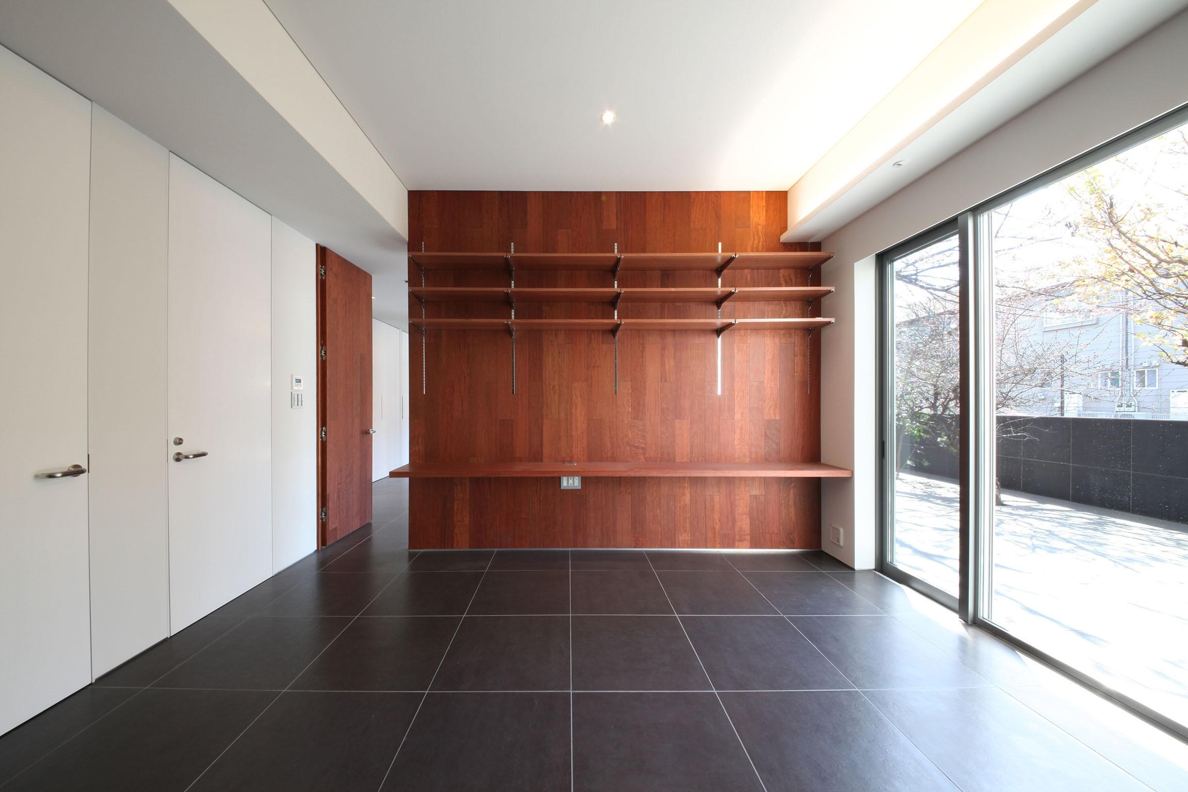 ベッドルーム事例:寝室(HMR [テラスの家])