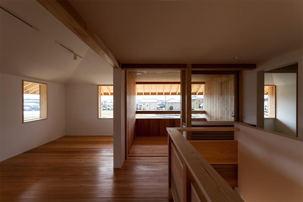 アウトドア事例:斑鳩の家(斑鳩の家)