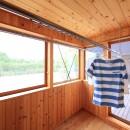暮らしを楽しむ家の写真 サンテラス