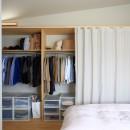 暮らしを楽しむ家の写真 寝室
