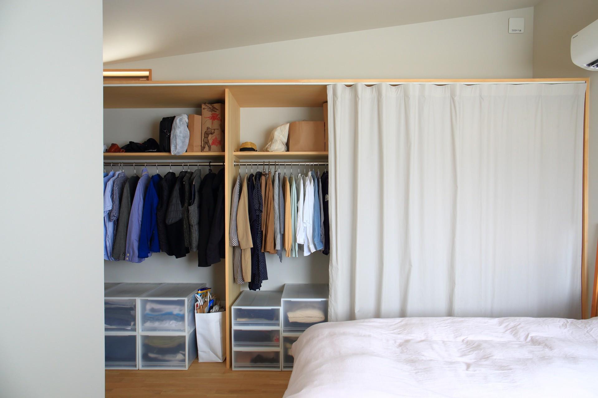 ベッドルーム事例:寝室(暮らしを楽しむ家)