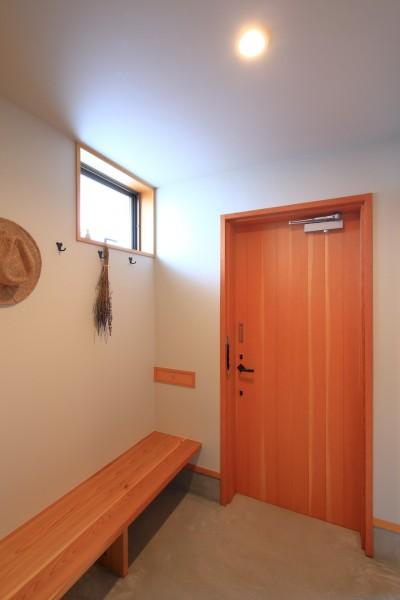 玄関 (暮らしを楽しむ家~好きなインテリアと雑貨に囲まれた暮らし~)