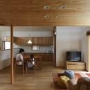 自然体で暮らす平屋~光・風・緑を取り込む家~の写真 ダイニング