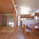 自然体で暮らす平屋の写真 ダイニング・和室