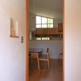 自然体で暮らす平屋 (玄関)