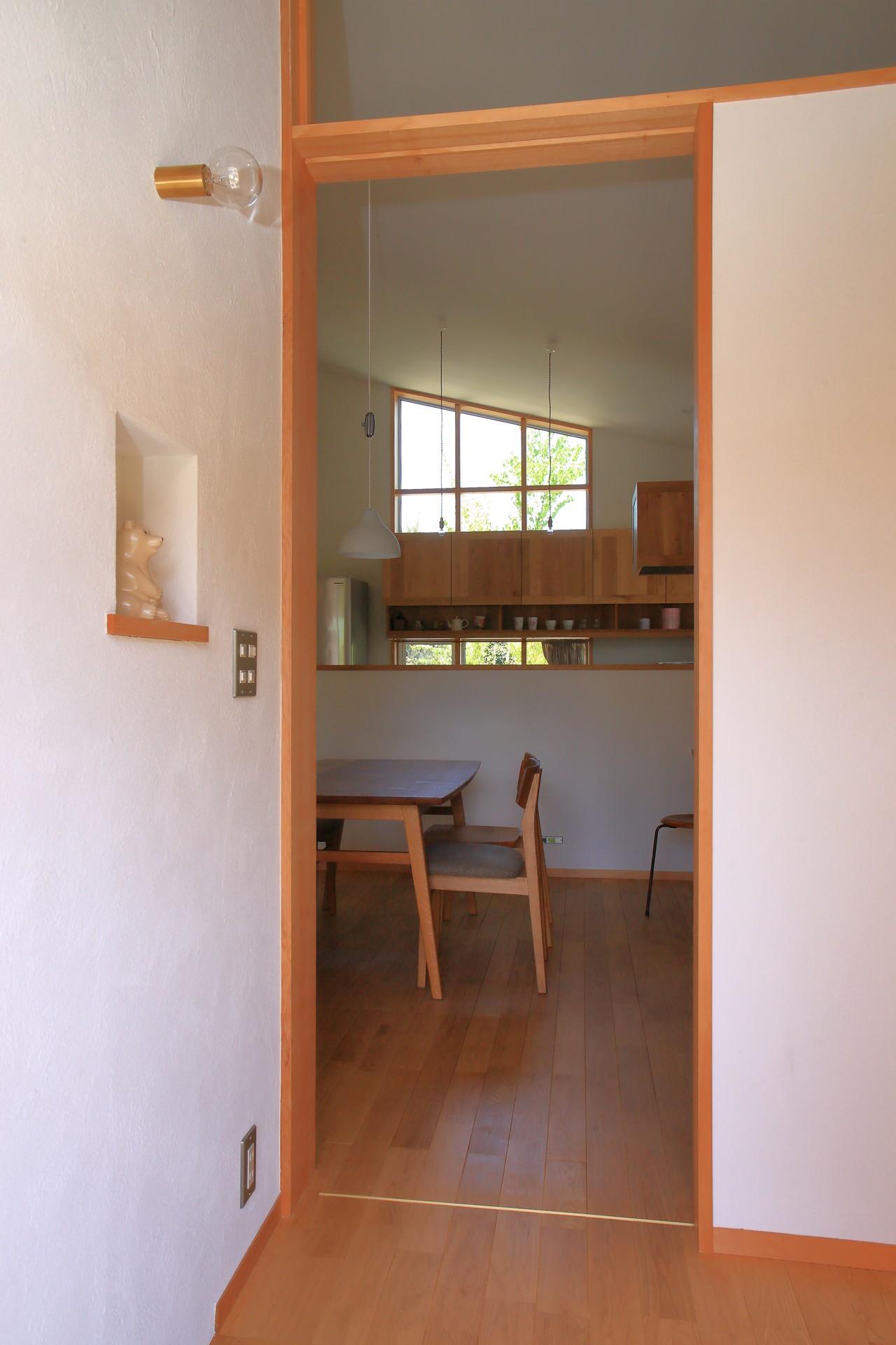 玄関事例:玄関(自然体で暮らす平屋)