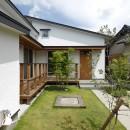 自然体で暮らす平屋~光・風・緑を取り込む家~の写真 外観