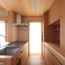 自然の恵みと暮らす家の写真 キッチン