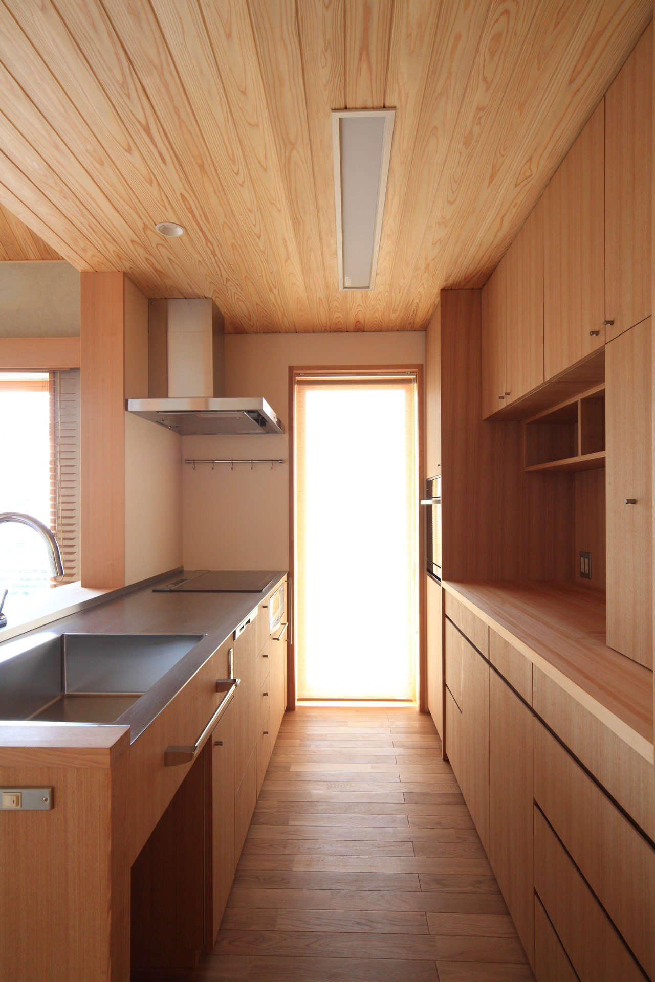 キッチン事例:キッチン(自然の恵みと暮らす家)