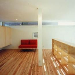 鉄と杉/Kaさんの家 (3階子供室)