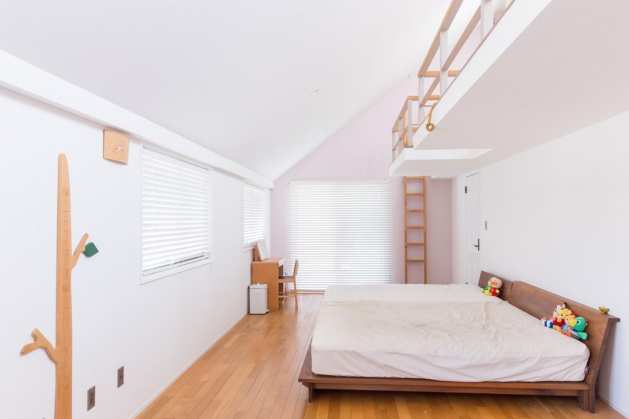 子供部屋事例:子供部屋(Madagasucar~大空間で贅沢アレコレ。鉄筋コンクリート造の戸建てリノベ~)