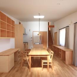 心地よい居場所のある家~モノの管理がらくですっきり暮らせる家~