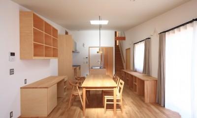 心地よい居場所のある家~モノの管理がらくですっきり暮らせる家~ (ダイニング)