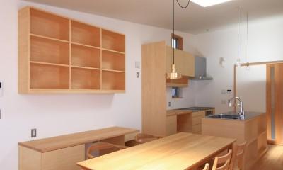心地よい居場所のある家~モノの管理がらくですっきり暮らせる家~ (ダイニングキッチン)