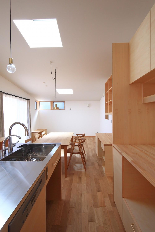 心地よい居場所のある家 (キッチン)
