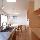 心地よい居場所のある家の写真 キッチン