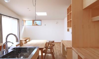 心地よい居場所のある家~モノの管理がらくですっきり暮らせる家~ (キッチン)