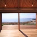 海の見える家の写真 リビング
