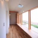 海の見える家の写真 ファミリールーム