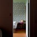 世界を旅する家の写真 ベッドルーム