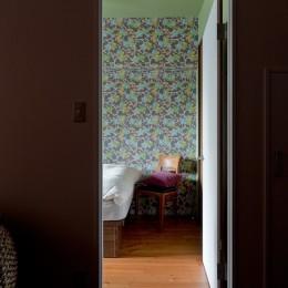 世界を旅する家 (ベッドルーム)