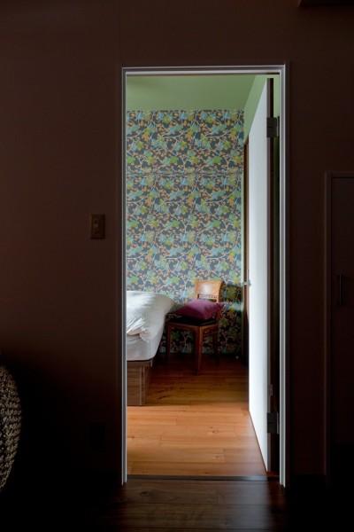 ベッドルーム (世界を旅する家)